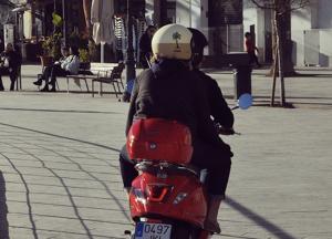 Pegatina para moto