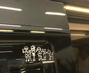 pegatinas para coches caravanas