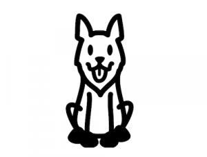 pegatinas de perros