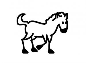 vinilos de caballos