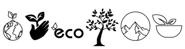 Pegatinas ecología
