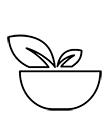 Symbol för vegetarisk kost