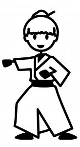 pegatinas judo
