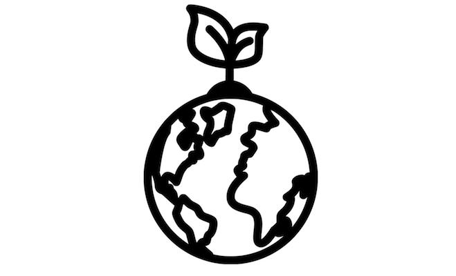 Stickers som visar Miljövänliga val