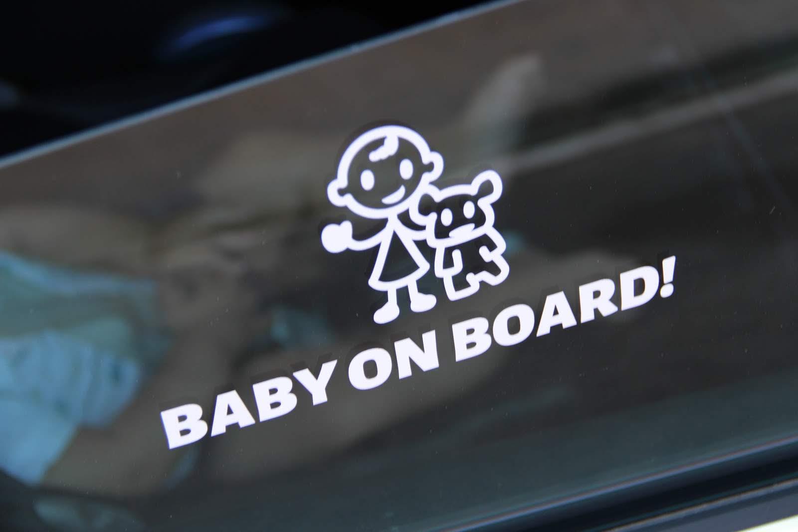 Pegatina Bebe a bordo