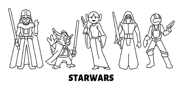 Avatars di Star Wars