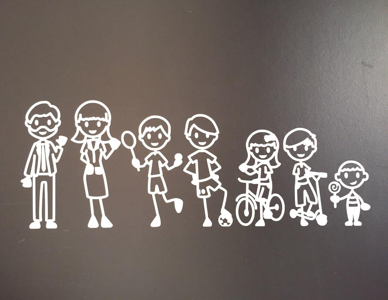 Originalpeople familia grande para coches