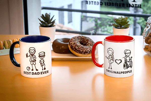 Personalized mugs that are a great deal.