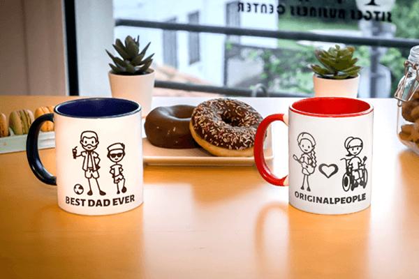 Des tasses personnalisées pour tout le monde!