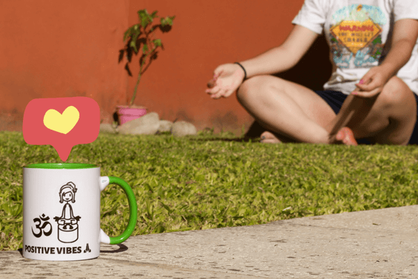 Momento de relax junto a tu taza personalizada