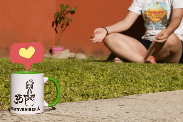 Yoga flow med din personliga mugg