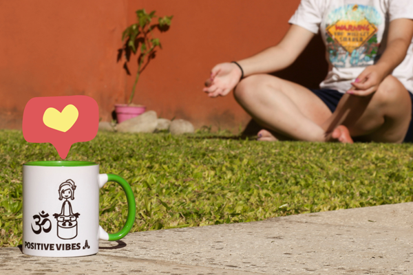 Time to relax with your personalised mug