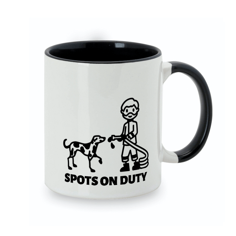 4-legged firefighters deserve their own dog mug design
