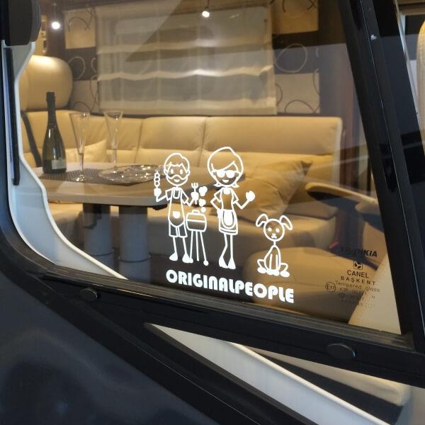 Fönster dekaler till din husvagn/bil