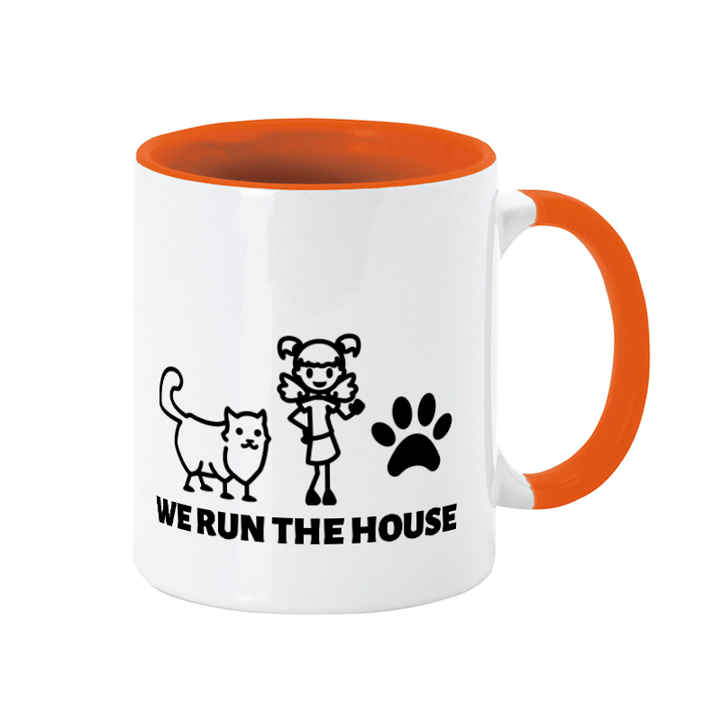 A cat mug for your best friend in the house