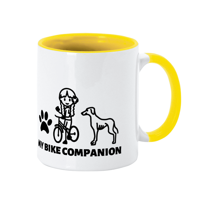 Greyhound dog mug
