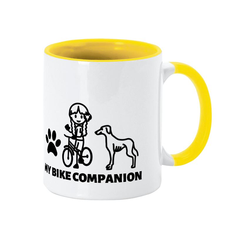Din vinthund, perfekt sällskap på cykelturen