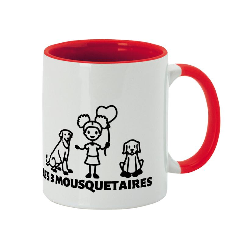 Crée une tasse personnalisée chien-maitre pour tes Golden Retrievers