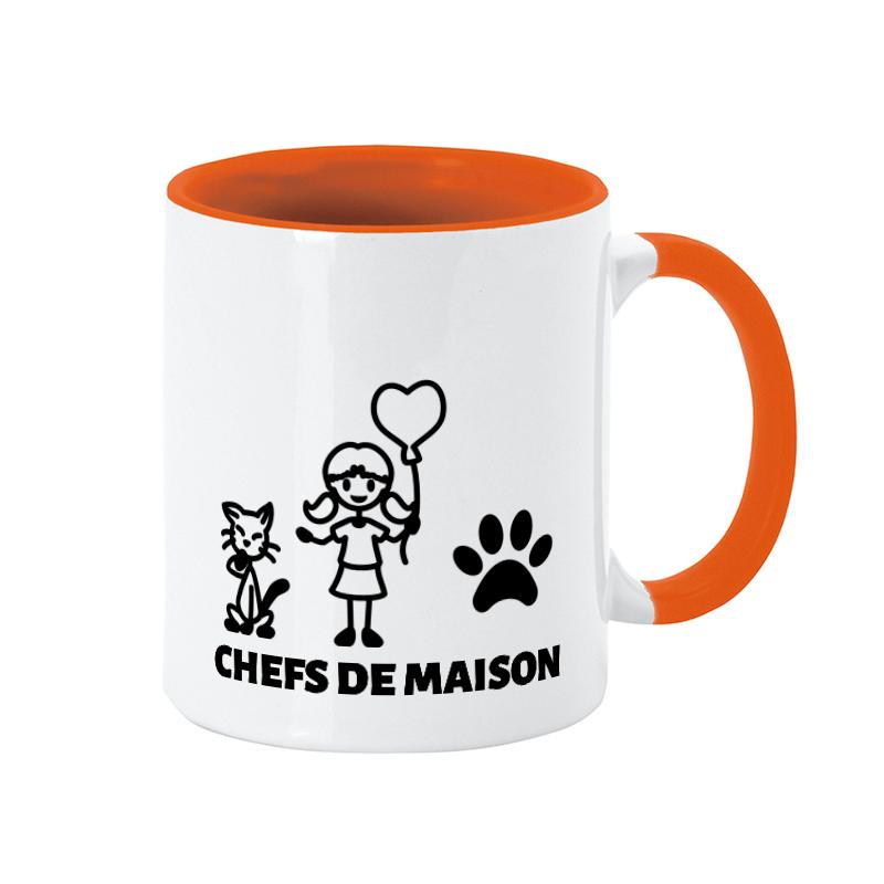 Mug personnalisé thème chat et enfants - OriginalPeople