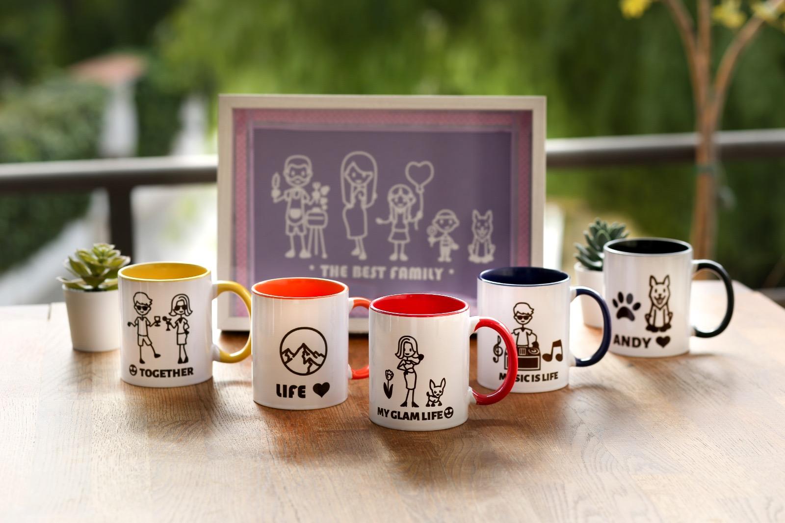 Modèles de mugs populaires