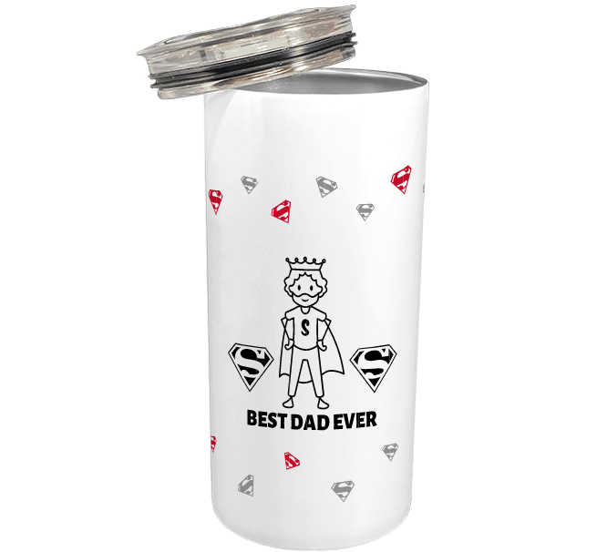 best dad ever customized thermos mugs