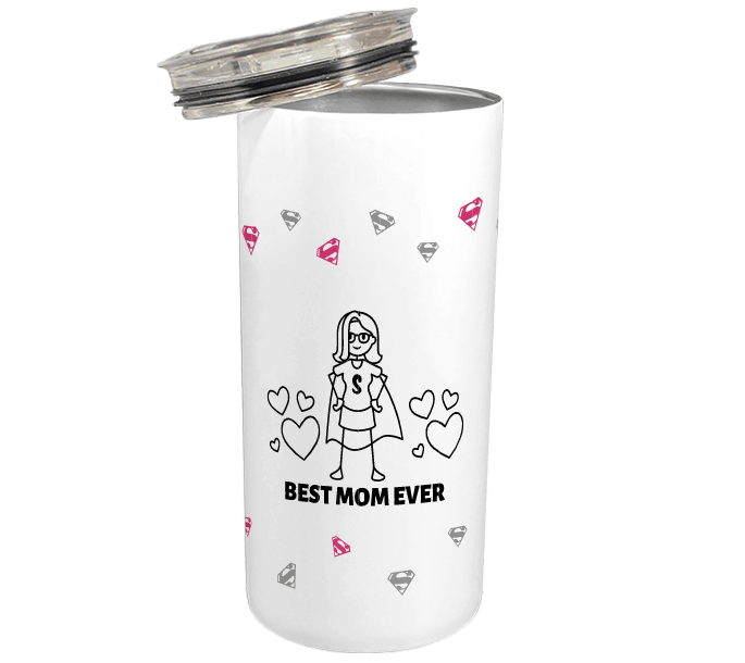 best mom ever customized thermos mugs