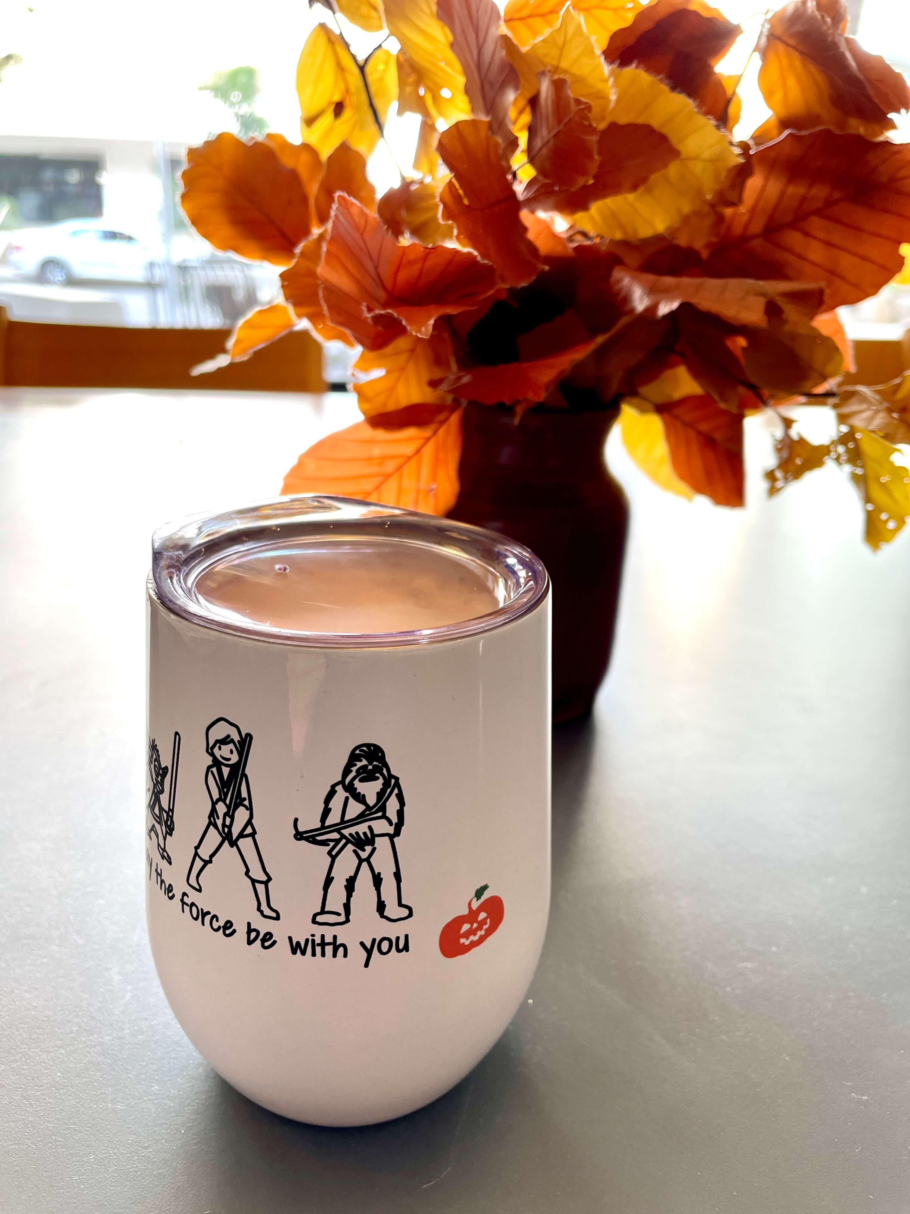 Personalized wine tumblers from originalpeople